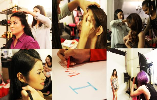 Commercial Makeup Artist Singapore